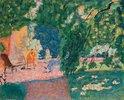 Gespräch in einem südlichen Garten (Le Bosquet)