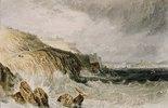 Zitadelle von Plymouth, ein Sturm. (Plymouth Citadel, a Gale.)