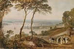 Plymouth Dock, from near Mount Edgecumbe