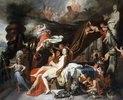 Merkur befiehlt Kalypso die Freigabe des Odysseus