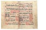 Prozessionsbuch: Der Sarum-Usus. Latein. England, spätes 15. Jahrhundert