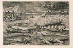 Landschaft mit Meerestieren, 20 (nummeriert unten links)
