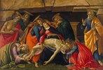 Die Beweinung Christi (mit den heiligen Hieronymus, Paulus und Petrus). Nach