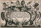 Titelkupfer zum 'Muscarum Scarabeorum', Antwerpen 1646. Bezeichnet: 'Muscarum Scarabe-/orum, Vermiumq(ue) Varie Figure & / Formae, omnes primo ad vivum colo/ribus depictae & ex Collectione Arun-/delian a Wenceslao Hollar aqua forti aeri
