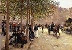 Eine Straße in Paris (Une Avenue Parisienne)