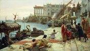 Die Einschiffung einer römischen Königin