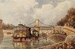 Ein Waschschiff nahe der Pont des Invalides
