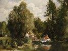 Der Teich bei Fees. / La Mare aux Fees