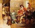 Die Ankunft von d'Artagnan