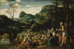 Die Predigt Johannes des Täufers