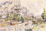 Der Hafen von Landerneau