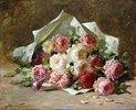 Ein Rosenstrauß
