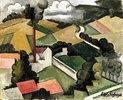 Der Fabrikschornstein, Landschaft von Meulan (La Cheminée d'usine, Paysage de Meulan)