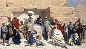 Der Besuch der Pyramiden in Gizeh, Ägypten