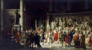 Die letzte Senatssitzung von Julius Caesar