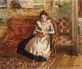 Jeanne beim Lesen