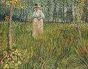 Frau in einem Garten (Femme dans un Jardin)