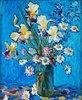 Stillleben: Lilien in einer Vase