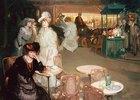 Cocktail-Stunde in einem Nachtcafé (L'Heure de l'Apéritif, Café de Nuit)