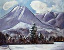 Mount Katahdin, Winter No