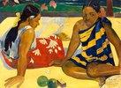 Zwei Frauen von Tahiti. PARAU API (Gibt's was Neues?)