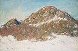 Der Berg Kolsås im Sonnenlicht (Le Mont Kolsaas, Effet de Soleil)