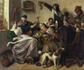 Fröhliche Gesellschaft (Die Familie des Malers)
