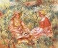 Zwei Frauen auf einer Wiese (Deaux Femmes dans l'herbe)