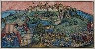 Die Belagerung der Bergfeste Bethulia