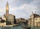 Der Canal Grande mit San Geremia, dem Palazzo Labia und dem Eingang zum Stadtteil Cannaregio