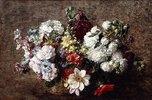 Gemischter Strauß, Gartenblumen (Bouquet Mêle, Les Fleurs du Jardin)