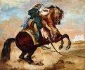 Türke auf einem rotbraunen Pferd (Turc monte sur un cheval alezan brûlé)