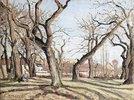 Kastanienbäume in Louveciennes (Bois de Châtaigniers à Louveciennes)