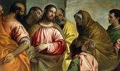 Jesus Christus und die Witwe von Naïn