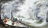 Eine Winterlandschaft mit dem Bethlehemitischen Kindermord