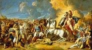Szene aus dem Trojanischen Krieg