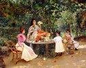 Teatime im Garten