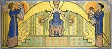 Wächter über das Leben (Entwurf für ein Wandgemälde) (Le Gardien de la Vie)