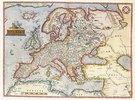Europakarte. Tafel aus 'Theatre de L'Univers, contenant les cartes de tout le monde'. Ausgabe von