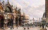 Die Basilica di San Marco und der Dogenpalast in Venedig