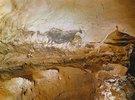 Höhle von Lascaux. Schiff: Gruppe der schwarzen Kuh. Ca. 17.000 v. Chr