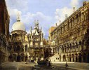 Der Innenhof des Dogenpalastes, Venedig