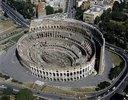 Das Kolosseum in Rom. 72-80 n. Chr