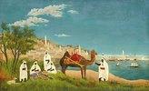 Landschaft um Algier (Paysage d'Alger)
