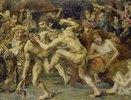 Odysseus im Kampf mit dem Bettler