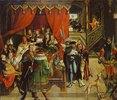 Der Arzt Philippus am Krankenbett Alexanders des Großen