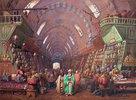 Ein Basar in Konstantinopel