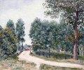 Die Straße nach Saint-Mammes - Am Morgen (Le Chemin de Saint-Mammes - Le matin)
