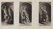 Simon mit 2 Philistern. (nach Michelangelo)