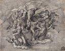 Engel. (nach Michelangelo)